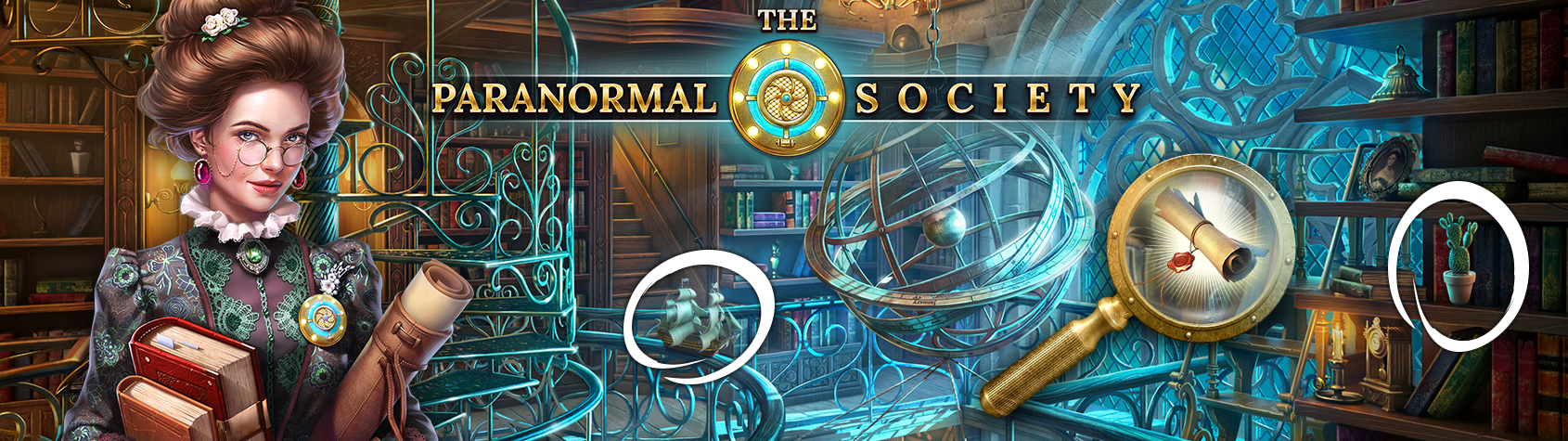 The Paranormal Society™: Hidden Adventure