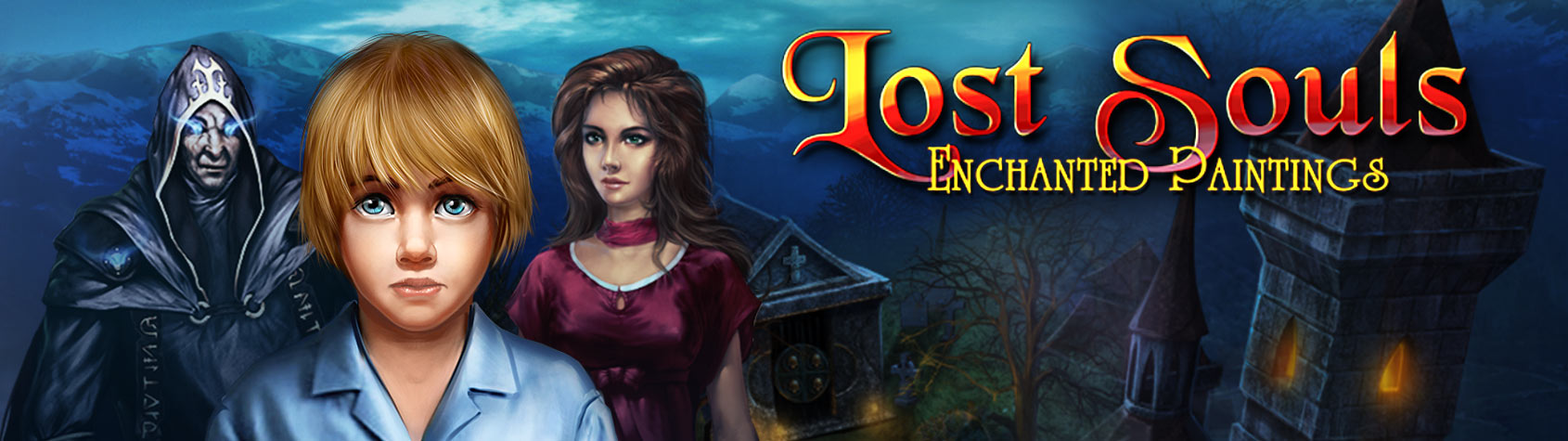 Lost Souls: Enchanted Paintings HD
