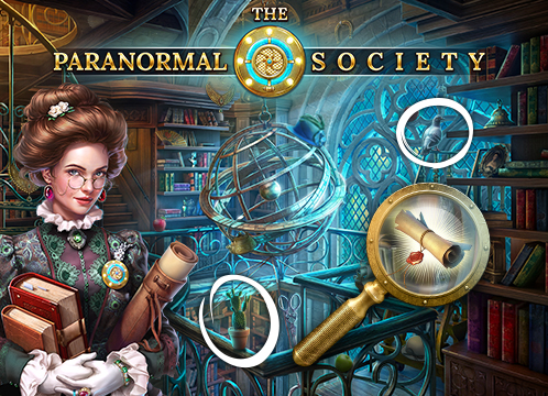 The Paranormal Society®: Hidden Adventure