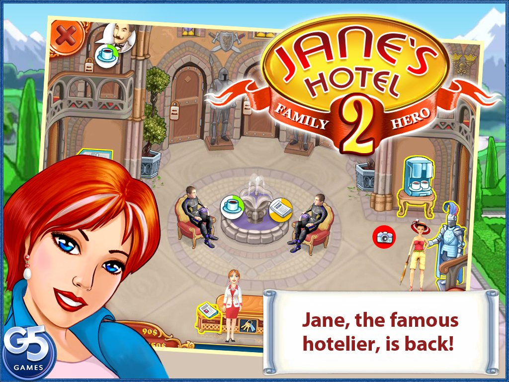 Jane's Hotel 2: Family Hero