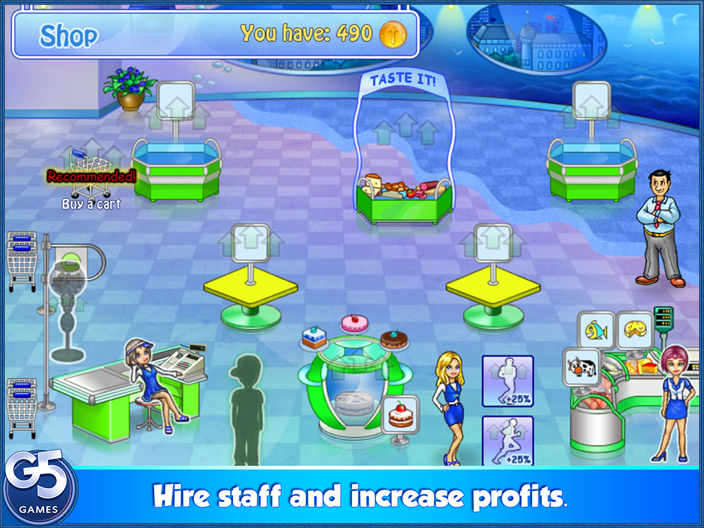 Supermarket Management HD