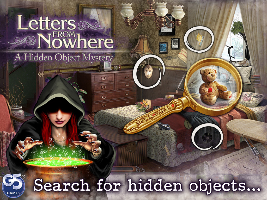 Letters From Nowhere®: A Hidden Object Mystery