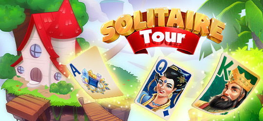 Solitaire Tour: Fun Tripeaks Puzzle Adventure