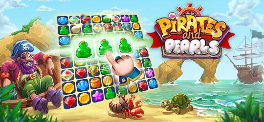 G5 Games - Pirates & Pearls®: Match, build & design