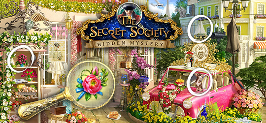 The Secret Society® - Find objects and solve puzzles