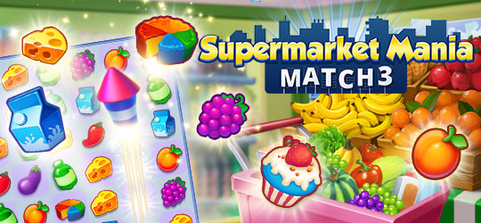 Supermarket Mania - Match 3: Shopping Adventure Frenzy