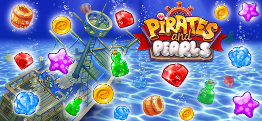 Pirates & Pearls®: A Treasure Matching Puzzle